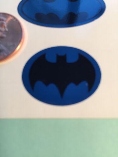 environ 30.48 cm chiffres échelle 1//6 Set de 6 DIE CUT Bleu Custom Batman DECALS POUR 12 in