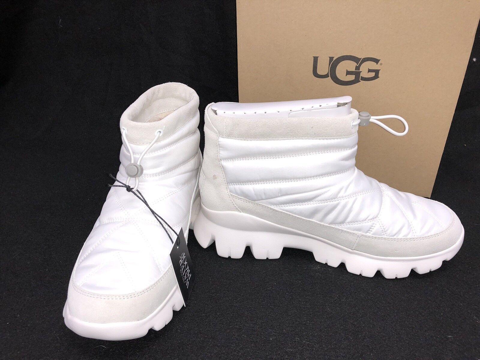 0fda80a7744 Ugg Australia Centara Boot 1095430 White Waterproof Quilted Winter Womens WP