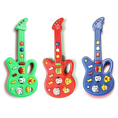 Neu Elektronische Gitarre Toy Sound Music Baby-Entwicklungs Kleinkind Bildungs