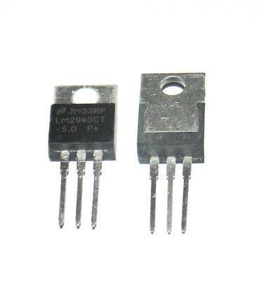 5* New LM2940CT-5.0 5V PMIC TO-220 LOW DROPOUT REGULATOR Hot Sale K81