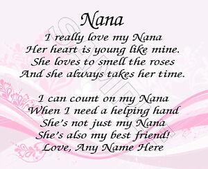 MY-NANA-PERSONALIZED-PRINT-POEM-MEMORY-BIRTHDAY-MOTHER-039-S-DAY-GIFT
