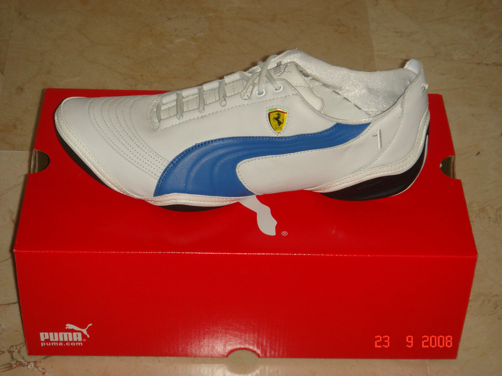 PUMA SCATTISTA LO SHOE MOTOR (PVP RACING FERRARI ORIGINAL WHITE (PVP MOTOR IN STORE 0663ed