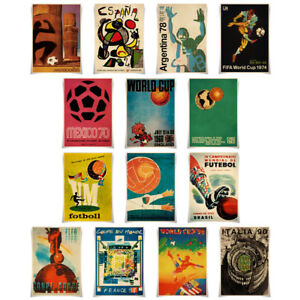 World-Cup-Past-Themed-Posters-Retro-Prints-A3-Size-Wall-Decoration-Gift