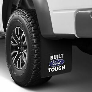 2-24-034-x-18-034-Rear-Dually-Mud-Flaps-FORD-FACTORY-OEM-LOGO-Fender-Splash-Guards