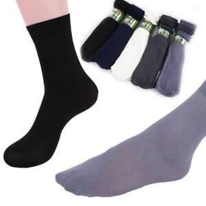 10X Pairs Mens Bamboo Fibre Socks Odor Resistant Sweat Work Natural Comfortable