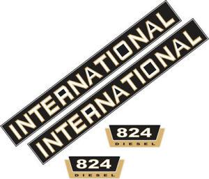 824 Inscription Aufklebersatz Case/ih 824, Ihc, Tracteur, Remorqueur-afficher Le Titre D'origine Ribdnyb5-07225137-349866018