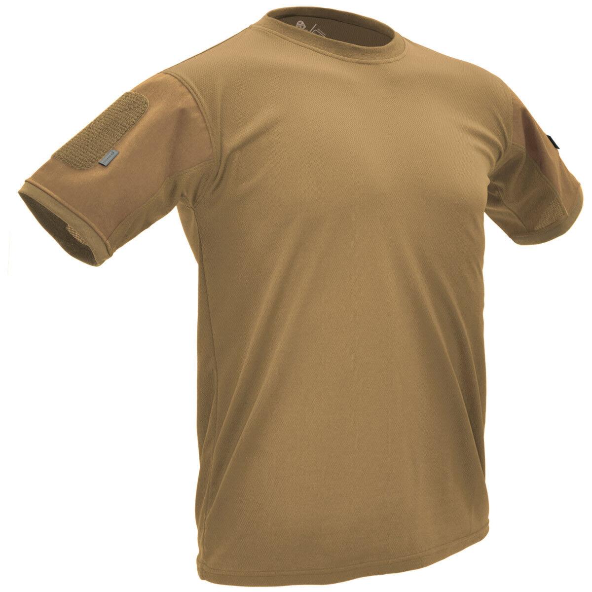 Hazard 4 Battle-T Unter Vest Taktische T-Shirt Herren Bekämpfung Oberste Top Tan