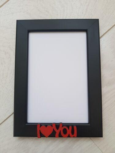 Photo frame personalised I Love You Gift 6x4 Boyfriend Girlfriend Anniversary