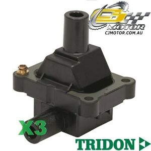 TRIDON-IGNITION-COIL-x3-FOR-Mercedes-C36-AMG-W202-10-95-7-97-6-3-6L-M104-941