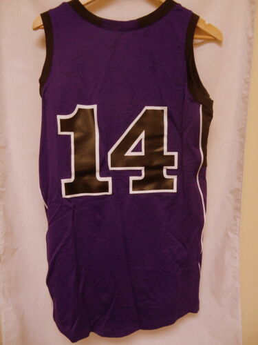Reebok Basketball Shirt Women Large Purple