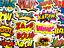 miniatuur 2 - 50 Comic Superhero Emote Stickers Decals For Skateboard Cars Laptop #BS