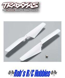 TRA6627 - TRAXXAS Rotor Blade Set White Alias 2