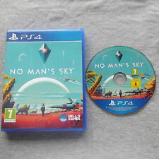 NO MAN'S mans SKY PLAYSTATION 4 PS4 V.G.C. FAST POST ( action/adventure game )
