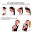 miniature 8 - 100-Remy-Human-Hair-Straight-Wrap-Around-Clip-in-Ponytail-Human-Hair-Extensions