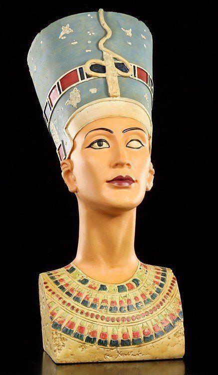 Nofretete Figur Büste groß 49cm - Ägypten Statue Deko