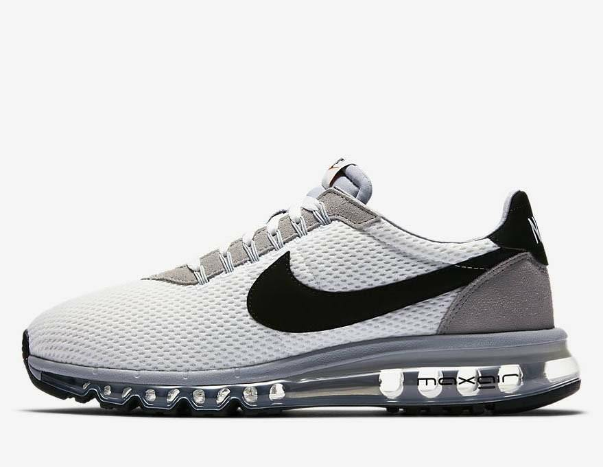 MAX NIKE LD-ZERO NIKE MAX AIR Para hombres Zapatos para correr 848624 101 cumbre Blanco NUEVO Tamaño 7 649bcf