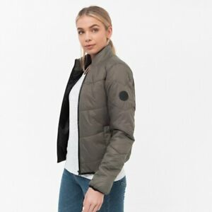 Crosshatch-Emerly-Ladies-Coat-Water-Resistant-Quilted-Winter-Puffer-Down-Jacket