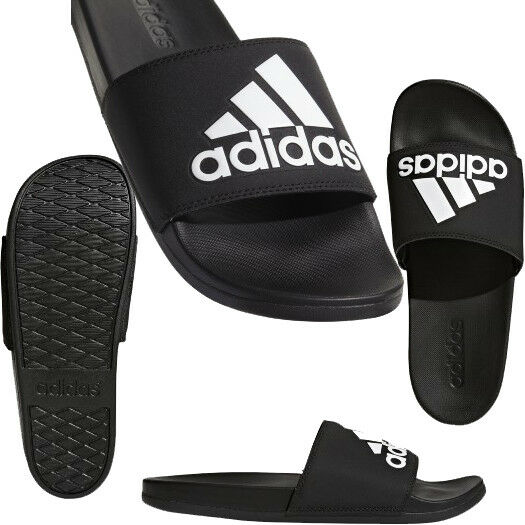 555b007770c6 Slide adidas Adilette CF Logo Black white US Size 13 for sale online ...