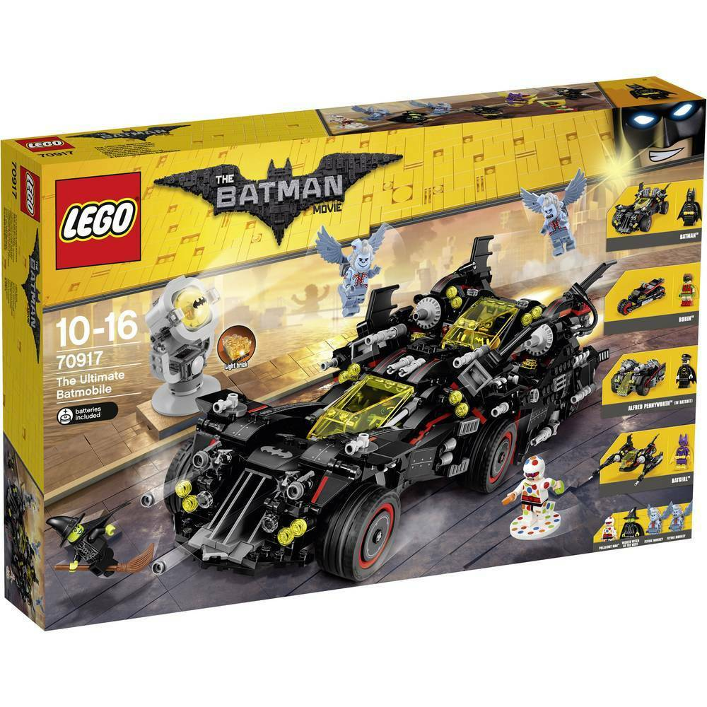 LEGO Batman Movie 70917  The Ultimate Batmobile - Brand New