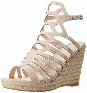 Wedge Of 6 Another Bn 4 Nude 7 Slingback Pair Sandals Size Cage High Shoes Awwz5q