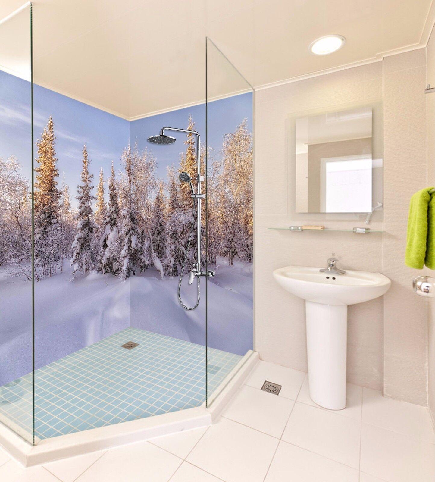 3D Snowy Nature 463 WallPaper Bathroom Print Decal Wall Deco AJ WALLPAPER AU