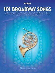 101 Broadway Songs For Horn Instrumentale Solo Livre Neuf 000154204-afficher Le Titre D'origine Couleur Rapide