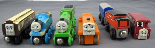 Thomas & Friends Wooden Trains 8pc Henry Old Slow Coach Terence Bertie & Tenders