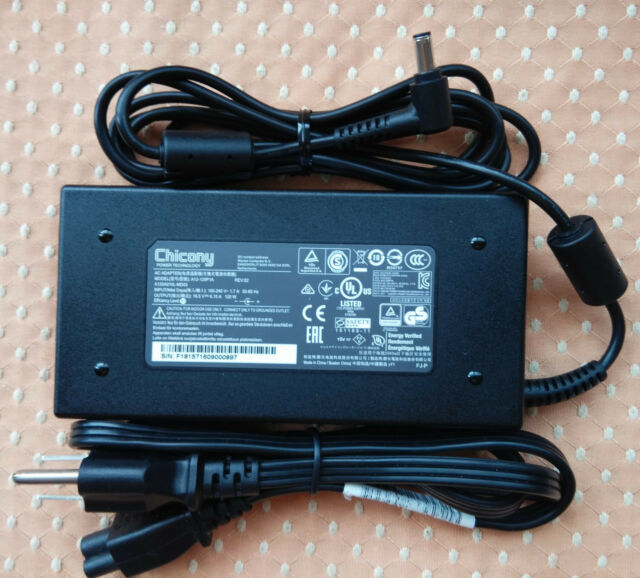 Original OEM Chicony 19.5V 6.15A 120W for MSI CX62 6QD-047US A12-120P1A Charger