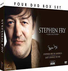 Stephen Fry Collection 4DVD Set  Stephen Fry in America amp Last Chance to See - <span itemprop='availableAtOrFrom'>Cheshunt, Hertfordshire, United Kingdom</span> - Stephen Fry Collection 4DVD Set  Stephen Fry in America amp Last Chance to See - Cheshunt, Hertfordshire, United Kingdom