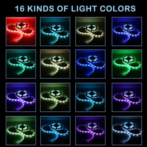 20M 65.6ft LED Strip Light RGB 5050 Music Sync DC 12v Sound Sensor 20Key Control