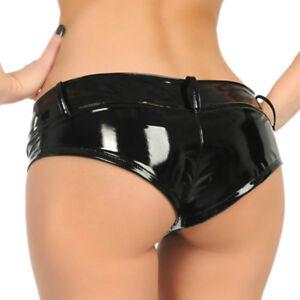 How wet when wearing latex panties
