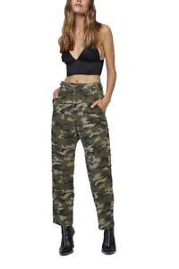Phoenix di militare pantalone donna High Rise gamba a Plotone Pistola dritta T1qwg8Tna