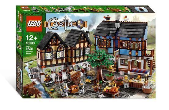 Lego Castle 10193 MEDIEVAL MARKET VILLAGE Knights Town City Kingdoms Peasants