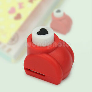 Medium-Heart-Shape-Paper-Hole-Punch-For-Scrapbooking-Card-Making-Quilling-New