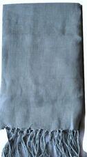 100% linen throw 100x 200 Duck egg blue