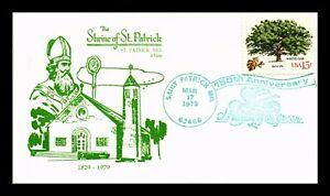 DR-JIM-STAMPS-US-SHRINE-OF-SAINT-PATRICK-MISSOURI-HOLIDAY-COVER-1979