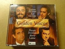 3 CD BOX / GOLDEN VOICES 1-2-3 (READER'S DIGEST)