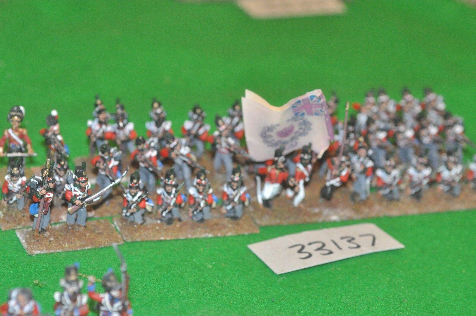 25mm napoleonic   british - scottish 71st regt 40 figures - cav (33137)