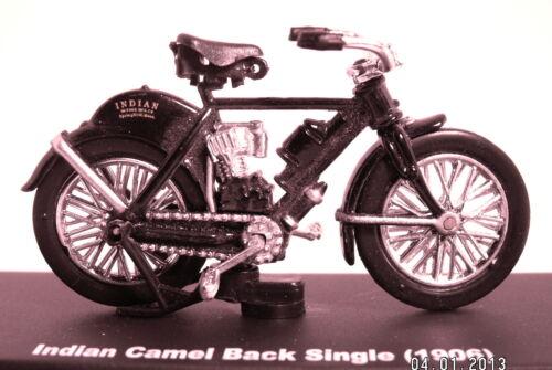 Indian CAMEL BACK single 1906 NERO scale 1:32 DIECAST MODEL