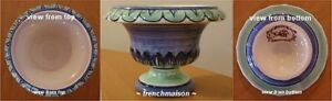 GIEN-Hand-Painted-Pottery-Faience-French-VASE-Collector-Limited-Edition-New