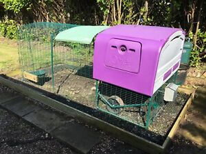 Omlet Eglu Cube Chicken Coop Mk1 With 2m Run Extension and accessories - Doncaster, United Kingdom - Omlet Eglu Cube Chicken Coop Mk1 With 2m Run Extension and accessories - Doncaster, United Kingdom