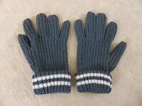 Wehrmacht Winter Finger Handschuhe Strickhandschuhe Größenringe UNI SIZE