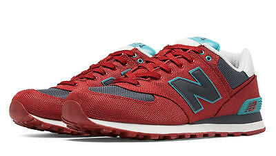 [ML574WNA] MEN'S NEW BALANCE 574 WNA WINTER HARBOR PACK CHILI RED / GREY 8-13
