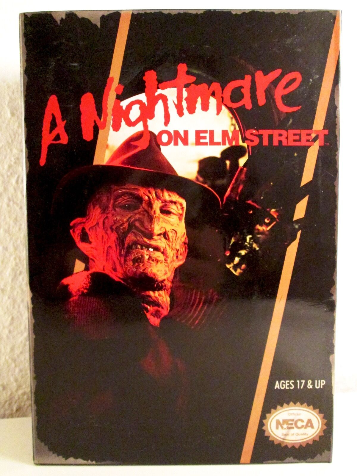 NECA A NIGHTMARE ON ELMSTREET - Video Game Appearance NIB FROTdy in DISPLAY BOX