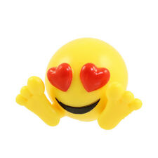 Fun 2 Play Toyz - Emoji Squishiez Pencil Topper - HEART EYES Emoticon - New