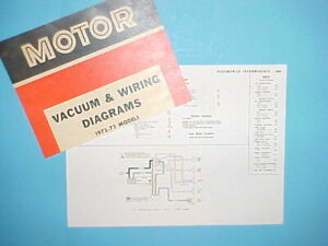 1972 1973 Oldsmobile Cutlass Supreme 442 Vista Cruiser Vacuum Wiring Diagrams Ebay