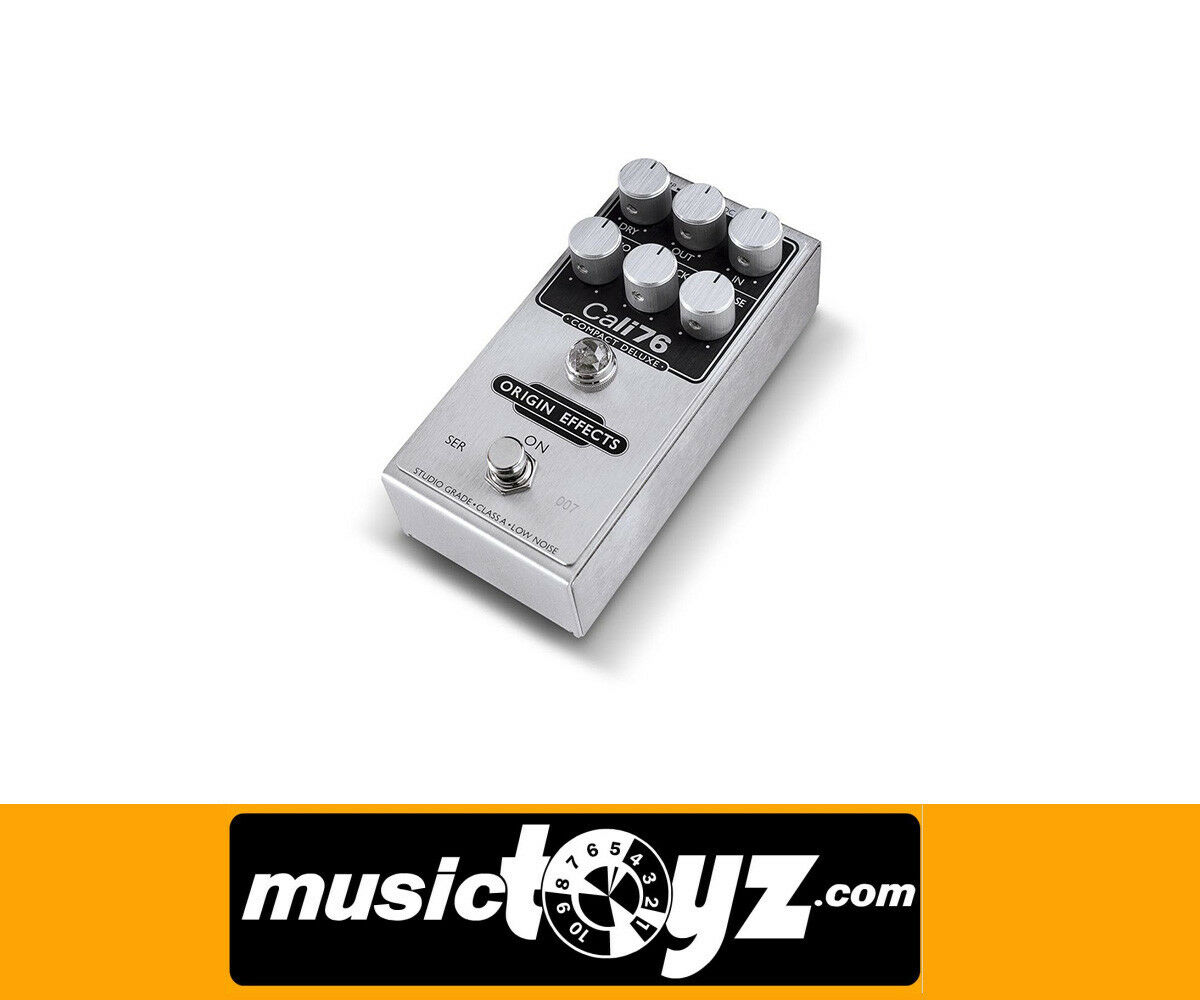 Origin Effects Cali76 Compact Deluxe Compressor Pedal - New Auth - FREE gift