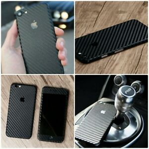 3D-Textured-Carbon-Fibre-Skin-Vinyl-Wrap-Sticker-Decal-Case-Cover-For-All-iPhone