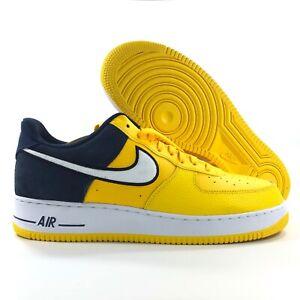 Nike Air Force 1 Yellow Navy AO2439 700  AO2439 700