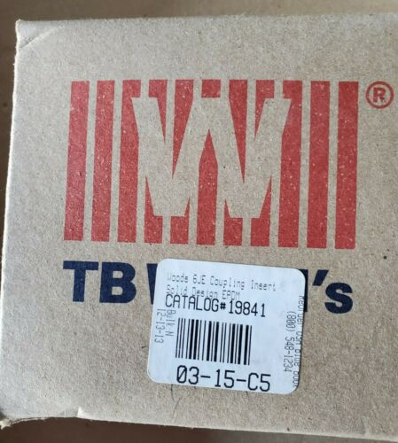 19841 TB Woods 6JE coupling insert